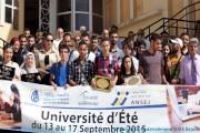 Cérémonie de clôture de de l'université d'été ANSEJ