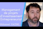 Séminaire-action en management de projets d'investissement-Entrepreneuriat