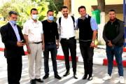 2ème visite sur le terrain, de la commission de lutte contre le Covid-19 à l'université de Bejaia