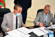 Signature d'une convention cadre entre l'Université de Bejaia et le  Tribunal administratif
