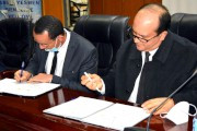 Accord cadre de coopération entre l'université Abderrahmane MIRA de Bejaia, le Groupement Algeria Corporate Universities et le Groupement Manadjim El Djazair