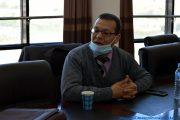 Pr AIT MANSOUR Kamal , doyen de la La Faculté de Droit et des Sciences Politiques de l'université de Bejaia