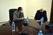 Le Pr BOUDA Ahmed, recteur de l'université de Bejaia, et Pr BOUKERROUI Abdelhamid, Ex doyen de la faculté des sciences exactes